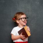 Girl chalkboard