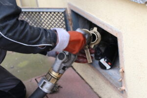 buy a home with heating oil